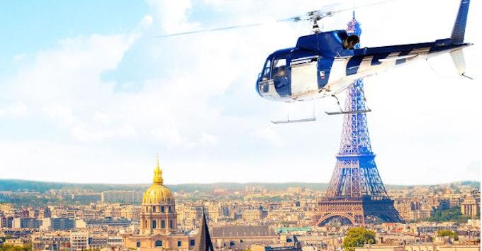 Paris - Versailles en hélicoptère