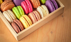 Macarons delivered to your Hotel