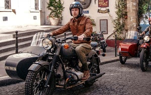 Retro Tour: Paris in a sidecar !