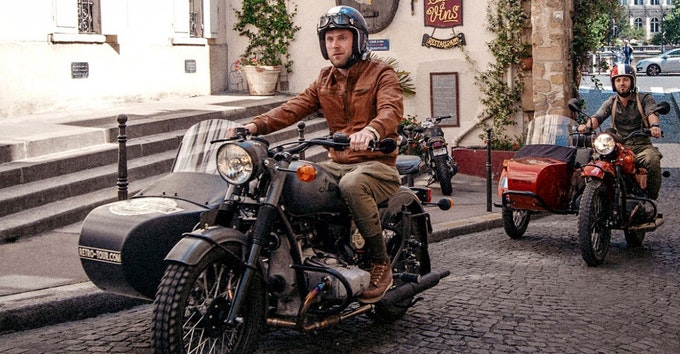 Retro Tour: Paris en sidecar !