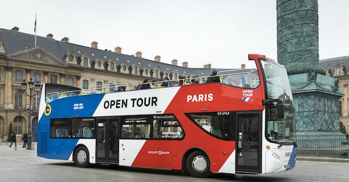 bus à arrêts multiples 1, 2 ou 3 jours