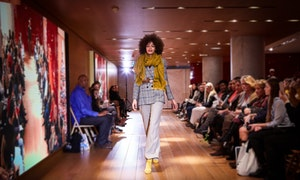 30-minute Fashion Show at Galeries Lafayette