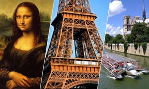 1 day : Eiffel Tower, Louvre and Cruise - all guided