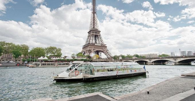 Batobus sur la Seine