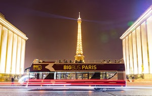 Paris: 2-Hour Night Tour by Bus