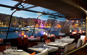 2.5-Hour Dinner Cruise with Bateaux Parisiens