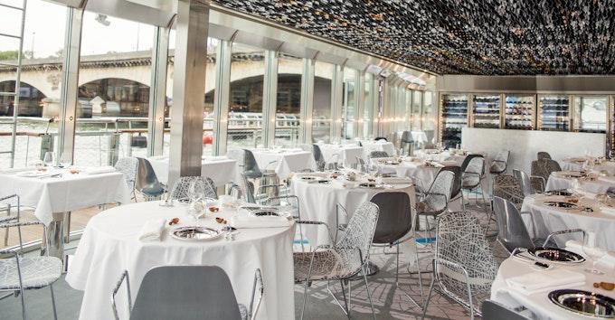 Croisière Dîner et Déjeuner | Ducasse sur Seine