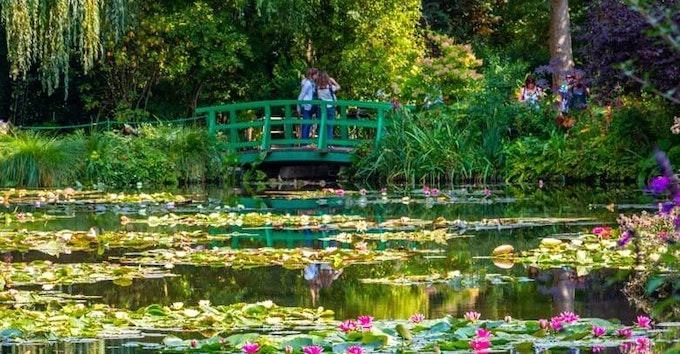 Visite Audio-Guidée des Jardins de Monet à Giverny au départ de Paris | Déjeuner inclus