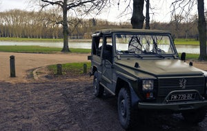 Transfert Paris -> Versailles with a Peugeot P4