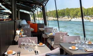 2-Hour Lunch Cruise with Bateaux Parisiens