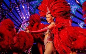 (الملهى الليلي (الطحونة الحمراء - Moulin Rouge