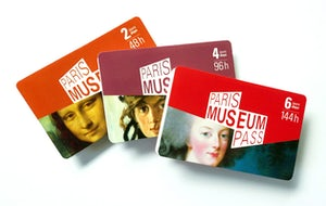 Paris Museum Pass 2, 4 or 6 days Pick-up at our agency OR delivered at your hotel