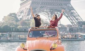 Vintage Car Tour with Parisitour from 45mn