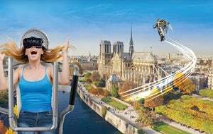 FlyView: Fly over Paris!